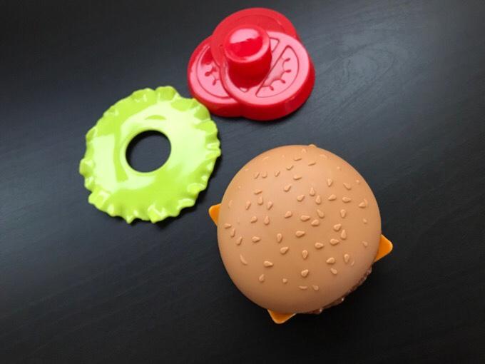 セリアハンバーガー 遊び方