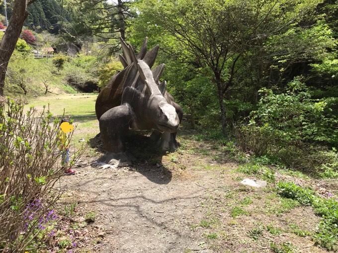 神流町 さざなみ ステゴサウルス